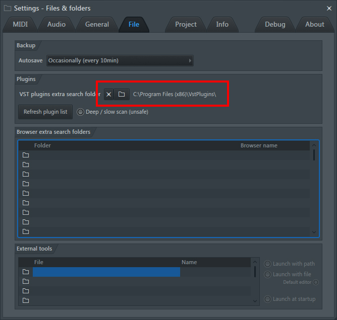 FL STUDIO 12 - VST プラグインの追加方法